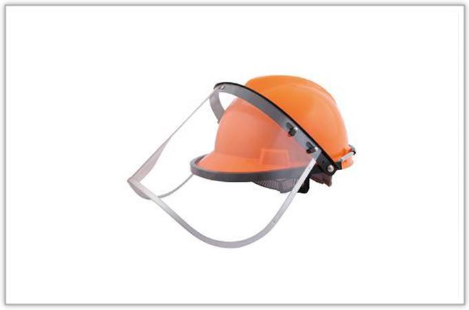 配帽型防护面罩